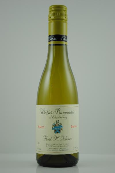 2017 Weissburgunder & Chardonnay QbA trocken HALBE